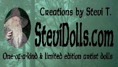 Creations by Stevi T... OOAK Artiest Dolls